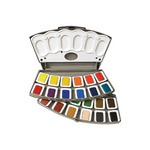 Pelikan Watercolor Transparent Set of 24 Large Pans