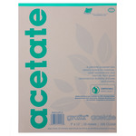 Grafix Biodegradable Clear Acetate .005 Pad 14x17""