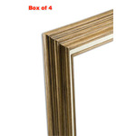 Accent Wood Frame Box of 4 Fruitwood 16X20