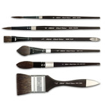 Silver Brush Black Velvet Watercolor Brushes