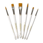 Gold-N-Flo Golden Taklon Watercolor Brush Set