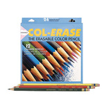 Col-Erase 12 Piece Erasable Pencil Set