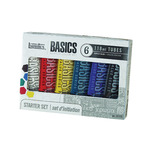Liquitex Basics Starter Set of 6 118 ml Tubes