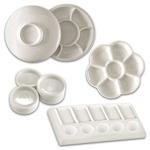 Creative Mark English Glazed Porcelain Palettes