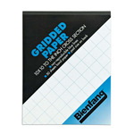 """Bienfang Gridded Paper 8x8"""" Grid 8.5x11"""""""