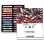 Sennelier Soft Pastels Cardboard Box Set of 24 Standard - Dark Tones
