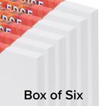 The Edge Canvas 3/4In Depth 5X7 Box of 6