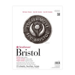 "Strathmore 500 Series Bristol 100% Cotton Pad Plate 11x14"""