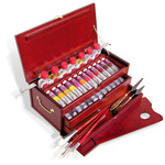 LUKAS 1862 Finest Oil Colors Deluxe Wooden Box Set