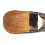 Raphaël Red Sable Brush Series 8722 Almond Filbert 4