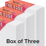 "The Edge All Media Cotton Canvas 2-1/2"" Box of Three 12x24"""