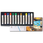 Sennelier Oil Pastels Cardboard Box Set of 12 Standard - Iridescent Colors