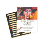 Sennelier Oil Pastels Cardboard Box Set of 24 Standard - Portrait Colors