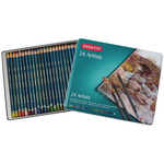 Derwent Artists Colored Pencils Tin Set of 24
