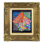 "Prizzi Ready Made Wood Frames 9x12"" - Gold Leafing"