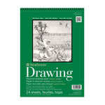 "Strathmore 400 Series Recycled Drawing Pad, 24 Sheets 14x17"" Medium"