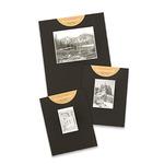 "Crescent Gallery Mat 4x6"" Landscape Image 11x14"" - Black"