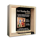 "Ampersand Museum Series Art Shadow Box 12x12"" Gessobord"