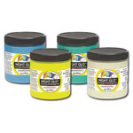 Speedball Night Glo Screen Printing Ink 8 oz Jar - White