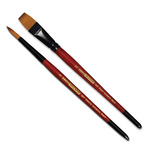 Creative Mark Ebony Splendor Short-Handled Brushes