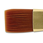 Creative Mark Qualita Golden Taklon Short Handle Brushes