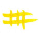 Faber-Castell Pitt Big Brush Pens 4-Pack No. 109 - Dark Chrome Yellow