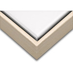 "Illusions Floater Frame for 1-1/2"" Canvas 9x12"" - Solid Natural"