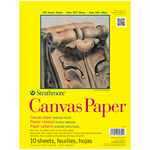 "Strathmore 300 Series Canvas Paper 12x16"" Glue Bound Pad Square"