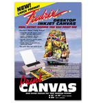 Fredrix Print Canvas 50-Sheet Pack 13x19""