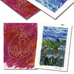 "SoHo Artist Trading Cards Pack of 5 2.5x3.5"" - 2.3mm"