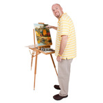 Dali Eco Friendly Bamboo French Easel