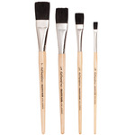 Black Bristle Brushes