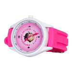 Jerry's Logo Wrist Watch Neon Pink