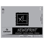 "Canson XL Rough Newsprint 24x36"" (100 Sheets - Tape Bound)"