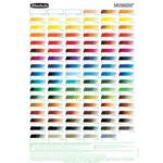 Schmincke Mussini Fine Artists Oil Color Chart
