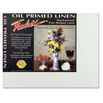 Fredrix Archival Canvas Boards Oil Primed Linen - Box of 12 12x16""