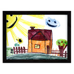 "RAS Kids Art Frame- Box of 12 9x12"" - Black"