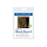 Strathmore Black Board Artist Trading Cards 1 Pack (10 Cards)