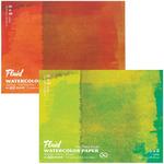 """Fluid Watercolor Paper Easy Block - 140 lb. Hot Press 6x8"""""""