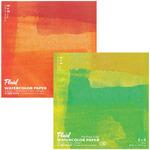 """Fluid Watercolor Paper Easy Block - 140 lb. Hot Press 8x8"""""""