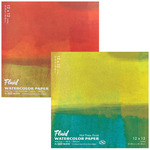 Fluid Watercolor Paper Easy Block - 140 lb. Hot Press 12x12""