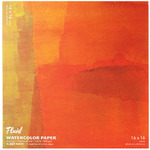 Fluid Watercolor Paper Easy Block - 140 lb. Cold Press 16x16""