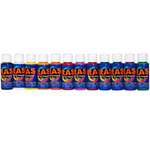 RAS Acrylic Paint for Kids Set of 12 2 oz. Bottles - Basic Colors