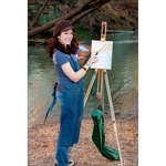 Daler-Rowney St. Paul's Portable Wood Easel w/ Carrying Case