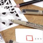 Zentangle Sakura Pigma Micron Sets