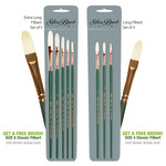 Silver Brush Grand Prix® Superior Bristle Brush Sets