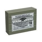 Plastalina Modeling Clay 1 lb. Bar - Grey