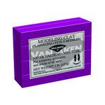 Plastalina Modeling Clay 1 lb. Bar - Violet