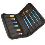 Daler-Rowney Water Colour Aquafine Travel Case Set 8 ml Tubes - Assorted Colors