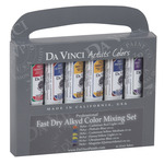 Da Vinci Fast Dry Alkyd Oil Color Mixing Set of 6 21 ml Tubes